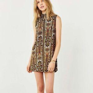 Holly Mock-Neck Dress